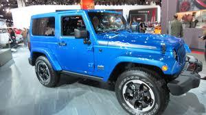 jeep arctic blue 2014 jeep wrangler polar edition at the 2014 naias auto show youtube