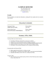 show me a exle of a resume show me sle resume matthewgates co