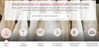 wedding planner websites weddings are stressful 12 websites for stress free planning