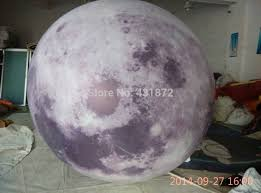 ball with light inside free shipping pvc inflatable moon with led light inside advertising