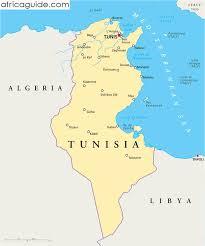 tunisia on africa map tunisia guide