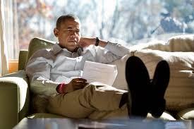 no man for old country obama rarely retreats to camp david