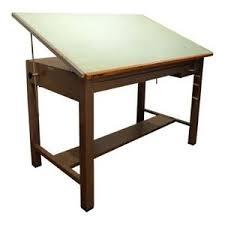 Steel Drafting Table Vintage Mayline Steel Drafting Table Desk Ebay