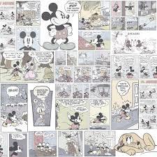 new official disney mickey minnie donald duck comic cartoon