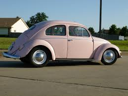 pink volkswagen beetle for sale 1957 volkswagen beetle mary kay pink