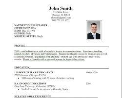 format for resumes resume format for inspirational resume sle format