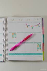 Washi Tape Designs by How To Decorate Your Planner With Washi Tape The Chic Life