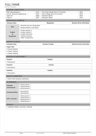 fmcg resume format sales resume format sales resume samples sales