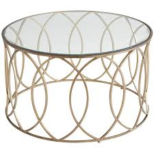Glass And Gold Coffee Table Elana Bronze Iron Round Coffee Table Pier 1 Imports