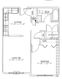one bedroom floor plan with design photo 57041 fujizaki
