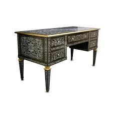 bureau napoleon 3 napoleon iii bureau plat desk ornate pewter inlaid rosewood