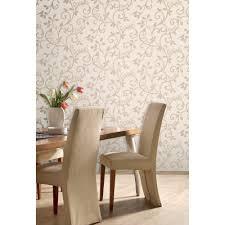 fine decor live love laugh scroll wallpaper cream gold fd40286