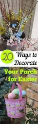 Cheap Easter Yard Decorations by Best 25 Outdoor Easter Decorations Ideas On Pinterest Happy