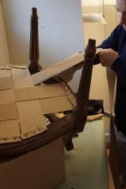 fauteuil ancien style anglais comment retapisser une bergère avec coussin tapissier