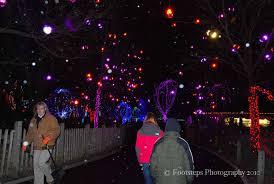 columbus zoo christmas lights winter wildlights footsteps travel