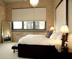 Transitional Master Bedroom Design Decorative Brick Wall Design For Your Interior 23735 Interior Ideas