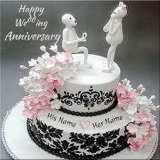 wedding cake anniversary happy wedding anniversary cake marriage anniversary cakes images