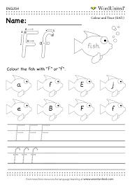 read and write the english alphabet free worksheet efl esl