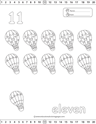 free printable number coloring pages number 11 coloring page getcoloringpages com
