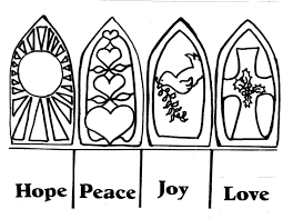 advent coloring page coloring for kids 4837