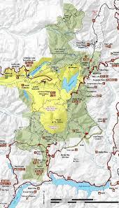 Washington Monuments Map by Mt St Helens Washington