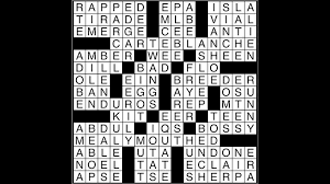 crossword puzzle answers may 16 2017 metro us