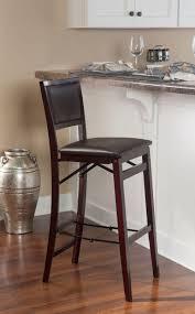 amazon com linon home decor keira pad back folding counter stool