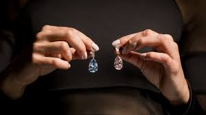 diamond earrings sale most expensive diamond earrings auctioned may fetch us 70