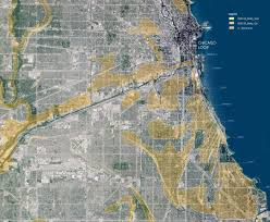 Illinois Flooding Map by Landscape Architect Explores Chicago Flooding Solutions