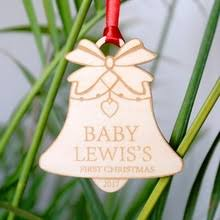 100 customised tree decorations personalized