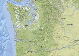 Portland Earthquake Map by 4 2 Earthquake Rattles Washington U0027s Kitsap Peninsula Oregonlive Com