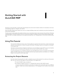 autocad tutorial getting started autocad mep gettingstarted