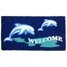 Long Doormats Nautical Doormat Coastal And Beach Themed Doormats