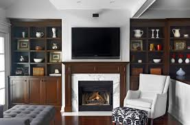 Mounting A Tv Over A Gas Fireplace by The Pros And Cons Of Having A Tv Over The Fireplace