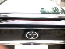 toyota camry spoiler toyota camry spoiler third brake light replacement 16 5 h style