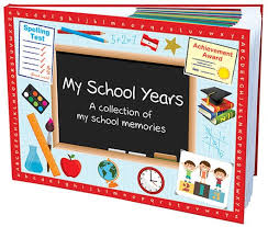 my school years book