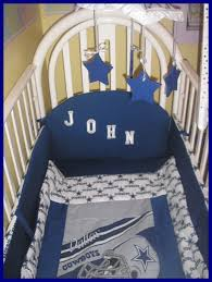 Cowboy Crib Bedding by New 9 Piece Baby Crib Bedding Set In Nfl Dallas Cowboys Il Full