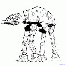 11 how to draw an imperial walker imperial walker