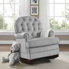 amazon com baby relax brielle button tufted upholstered rocker