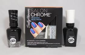 gel nail light sally s beauty lacquer or leave her review sally hansen salon chrome kit
