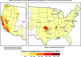 Area Code 707 Map 2017 One U2010year Seismic U2010hazard Forecast For The Central And Eastern