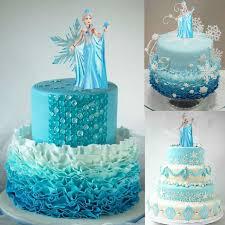 doll cake princess showcase snow white elsa model figure pretty