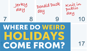 where do all those holidays come from