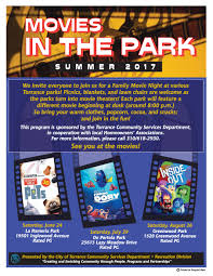 home movie in theaters movies in the park city of torrance