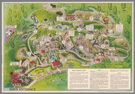 Map San Diego San Diego Zoo Copyright Lowell E Jones David Rumsey