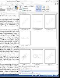 word 2013 clipart how to add a watermark to a document in word 2013