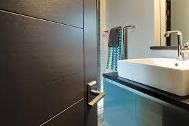 modern wood door modern interior doors wood veneer solid core custom glenview