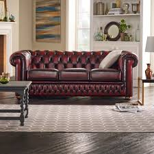 Buy A  Seater Chesterfield Sofa At Sofas By Saxon - Chesterfield sofa and chairs