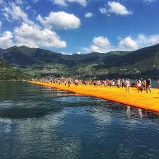 Floating Piers by Instagram Blog
