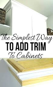 kitchen cabinet trim molding ideas kitchen cabinet moulding ideas cabinet door trim ideas rootsrocks